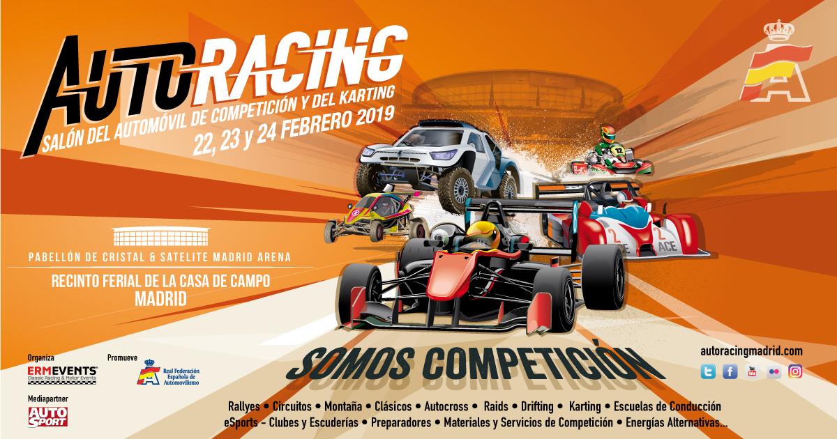 Salon Auto racing madrid