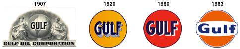 gulf logo history