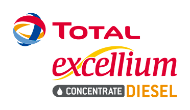 Logotipo Total Excellium Concentrate Diesel