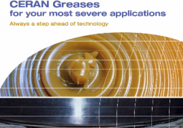 Ceran greases range for steel industry