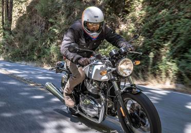 Moto Royal Enfiled Continental